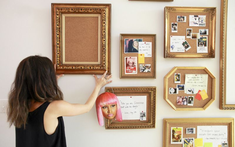 make your own cute cork board innovative office cork on inspiring workspace with a cork wall creating a custom cork board for your home id=87225
