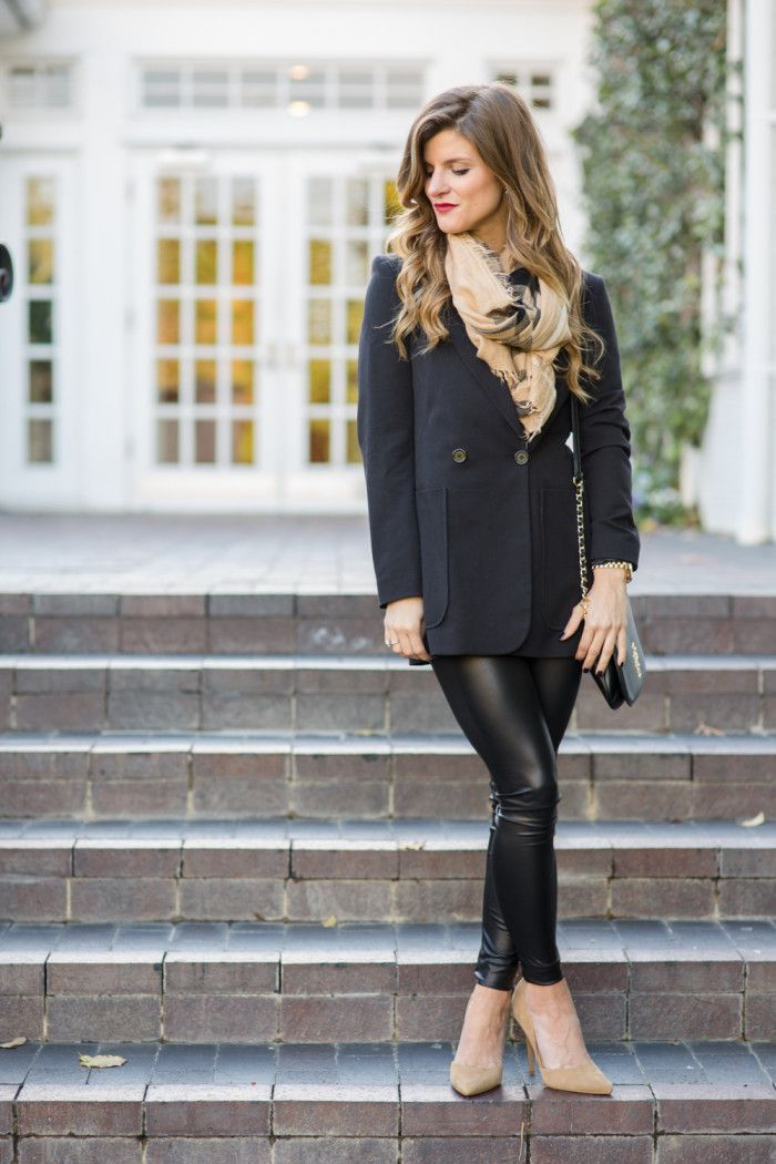 a38034702cf90 Winter Date Night Outfits with faux leather liquid leggings ...