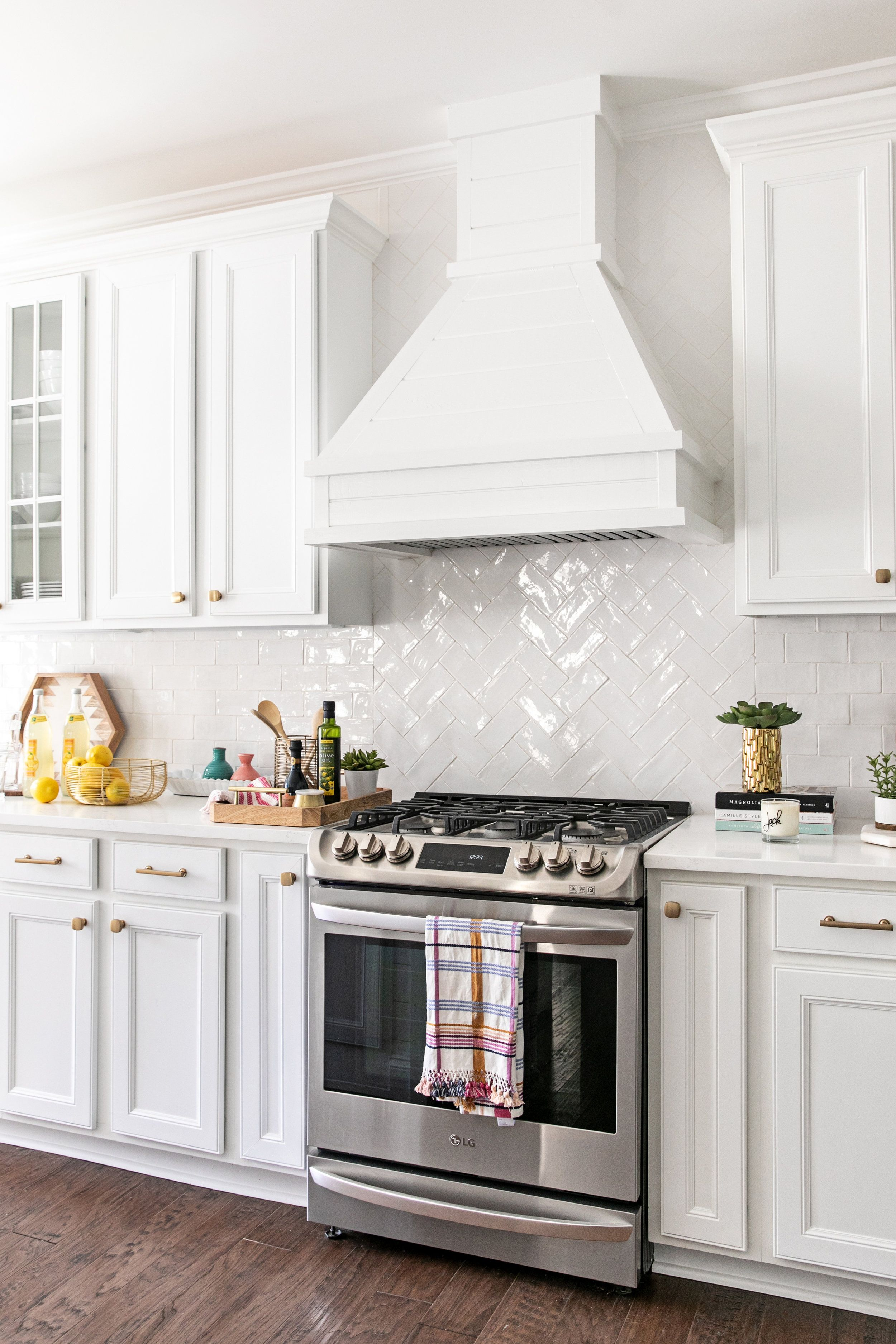 All White Kitchen Remodel Edit By Lauren With Images Home