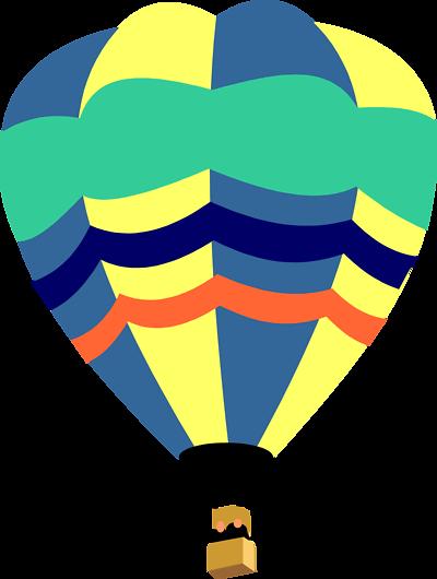 Free Hot Air Balloon Clip Art - Synkee