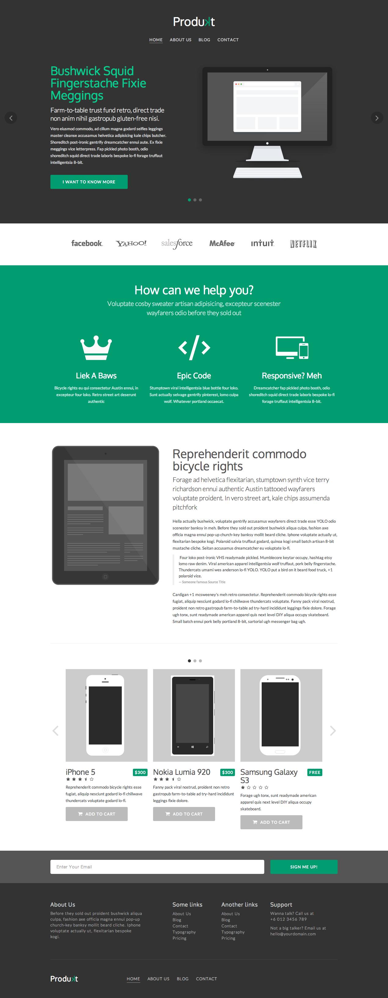 Produkt by Mohd Izuddin Helmi #flat #ecommerce #webdesign ...