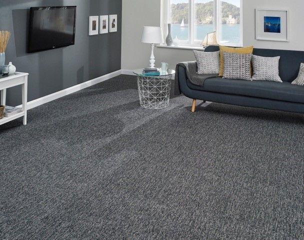 Waterfall Colour Slate By Kingsmead Carpets Grey Carpet Living