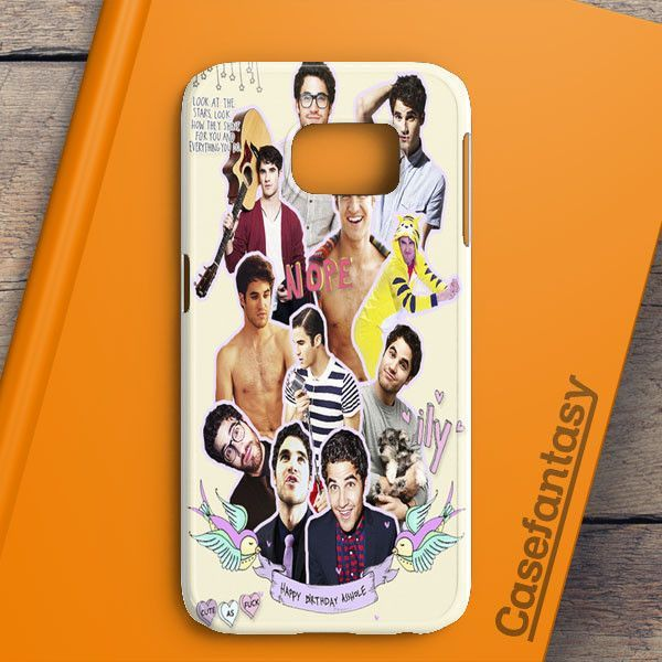 Darren Criss Topman Collage 4 Samsung Galaxy S6 Case | casefantasy