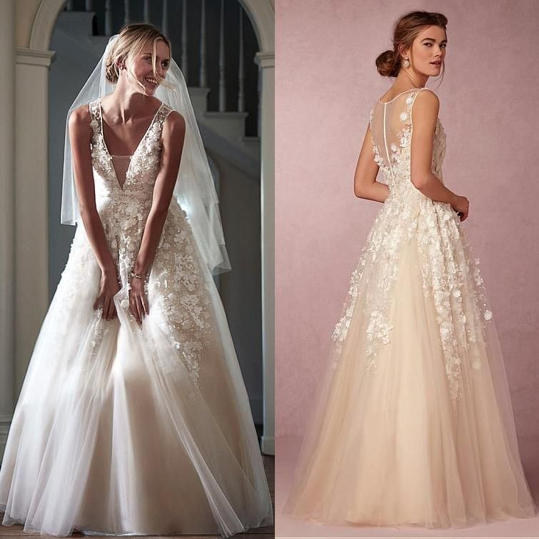 Wholesale designer wedding dresses online, dresses with lace and ...