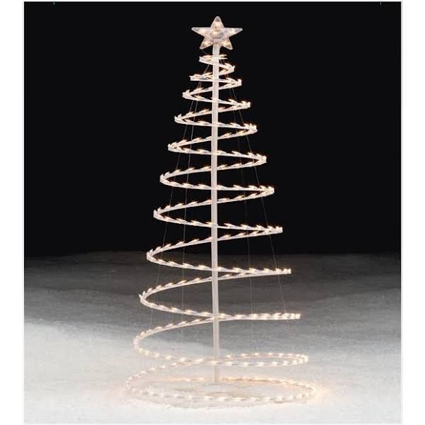 Trim a home lighted clear spiral christmas tree 6 ft christmas yard decorations pinterest - Trim a home outdoor christmas decorations ...