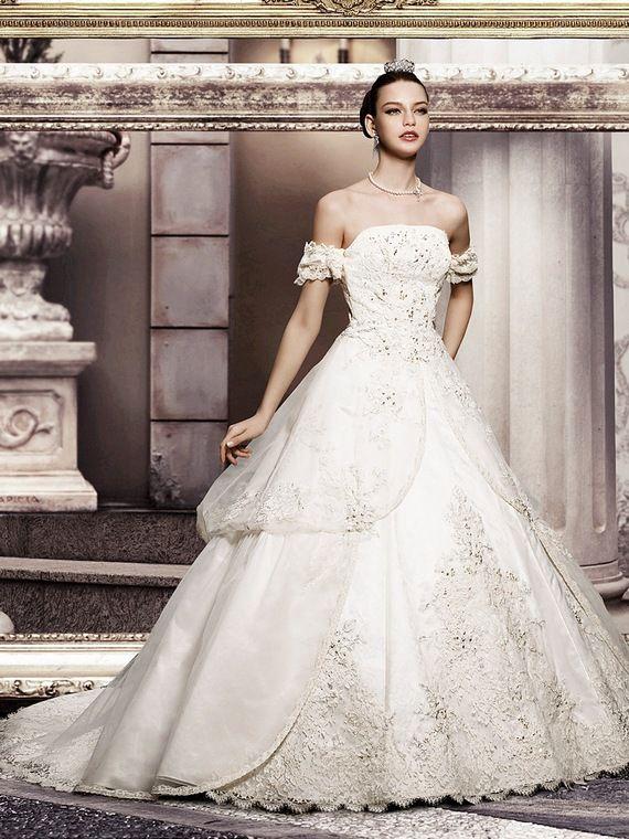 princess wedding | Princess Wedding Dresses with Elegant Strapless ...
