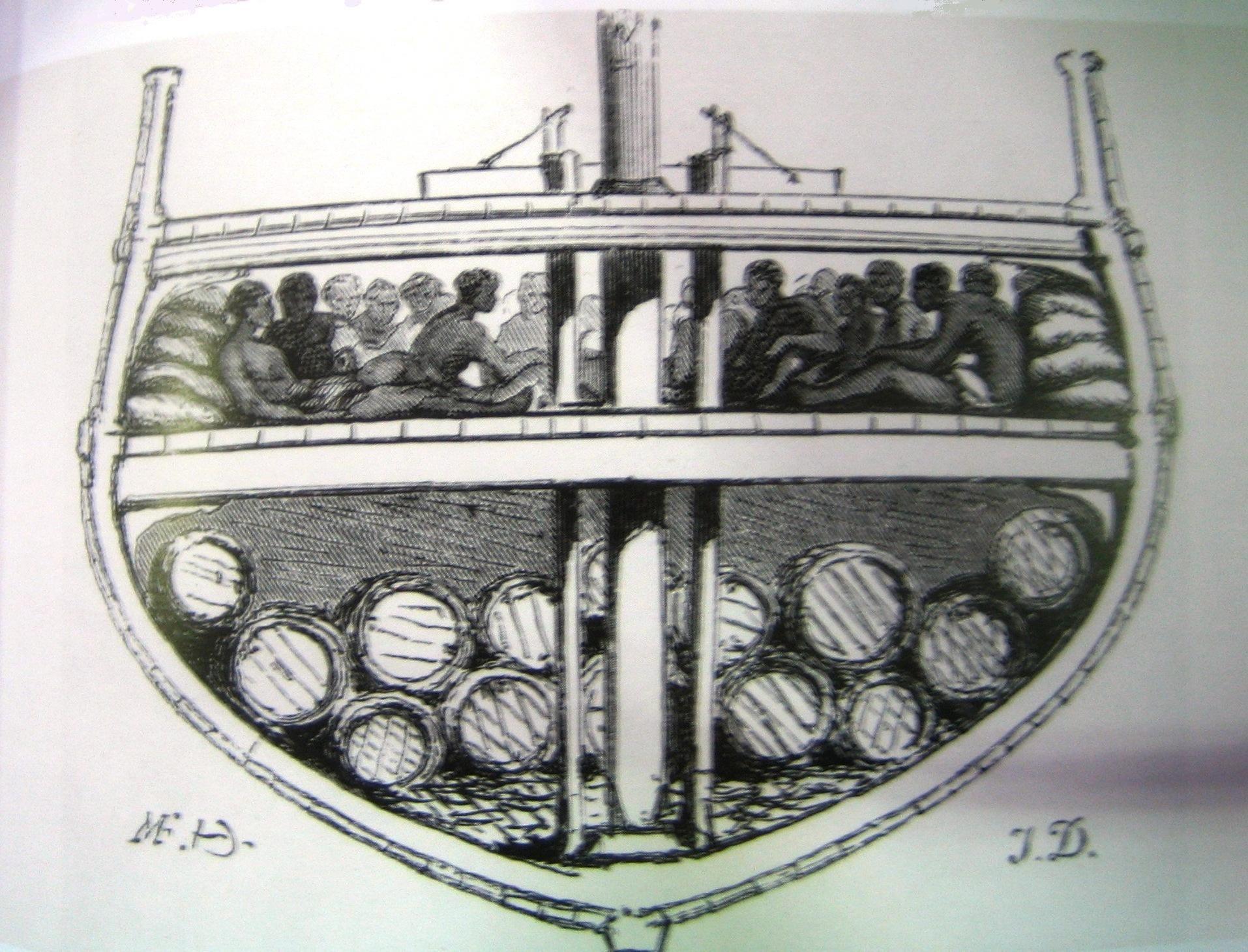 bateau negrier