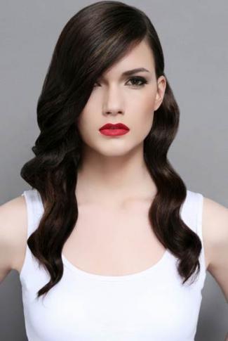 Pin by Melissa Hernandez on Hair styles   Long sleek hair ...