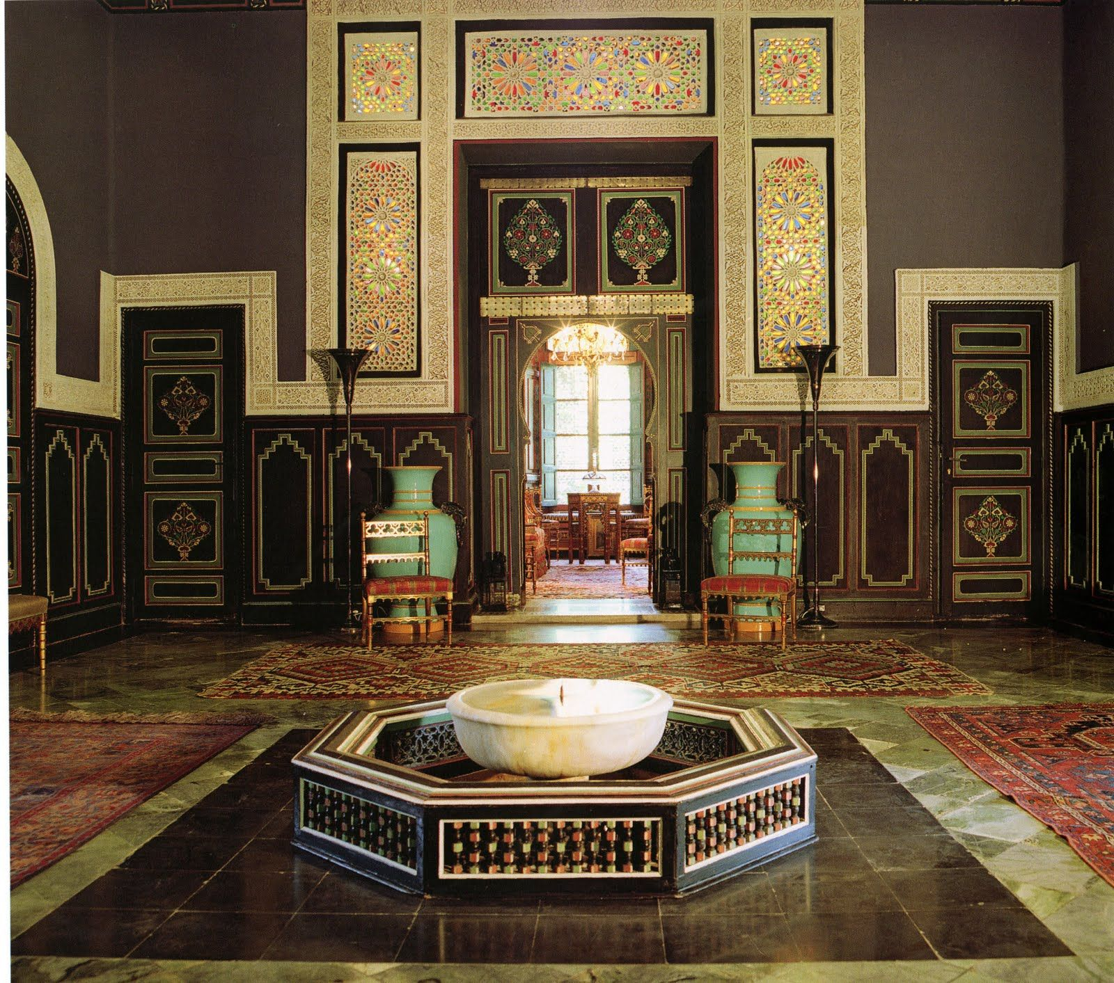 Ysl In Morocco I Love Everything The Color The Tile Work The