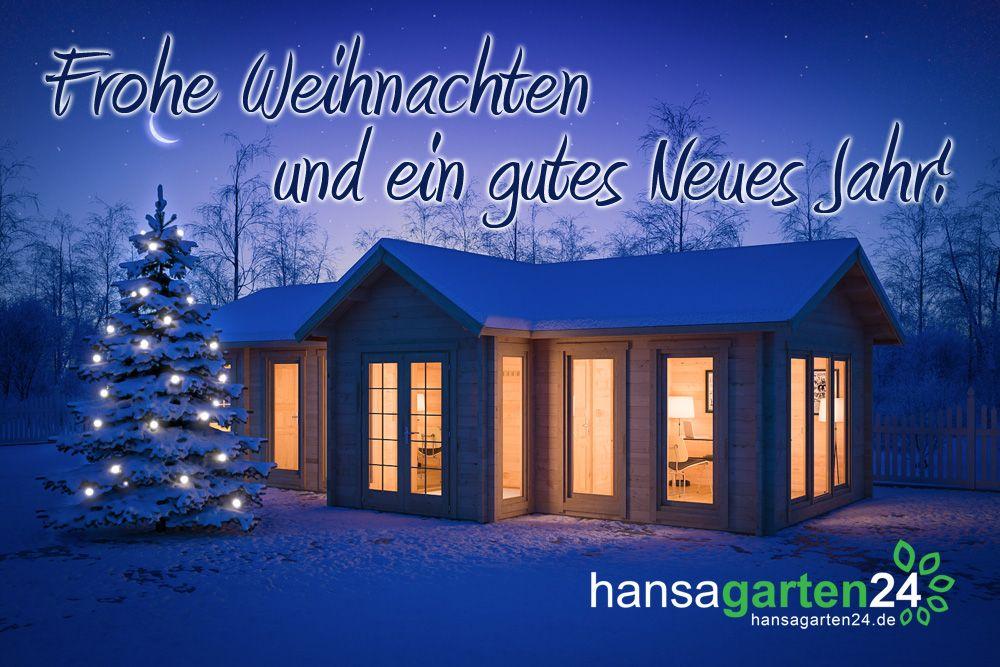 Frohe Weihnachten und ein gutes Neues Jahr! | Gartenhaus-Blog ...