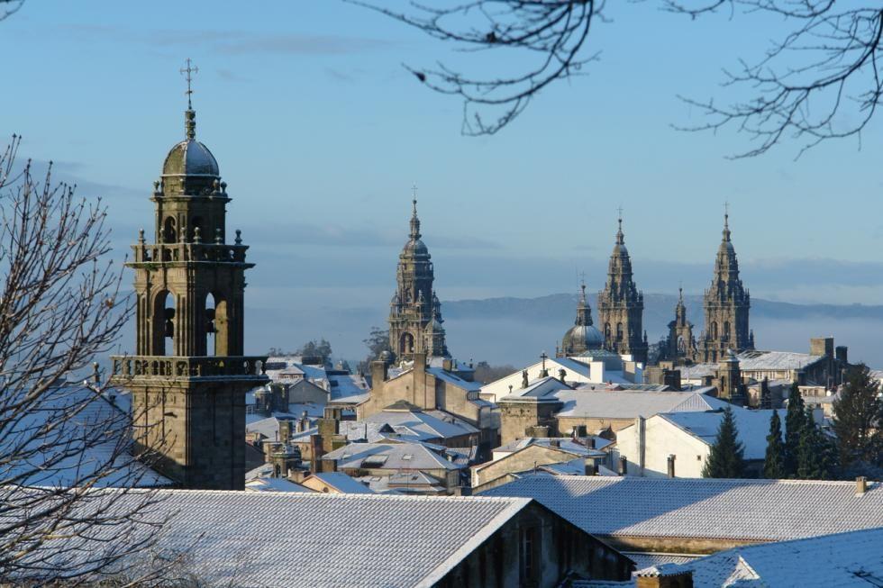 Compostela Nevada Santiago De Compostela Imágenes Bellas Hoteles