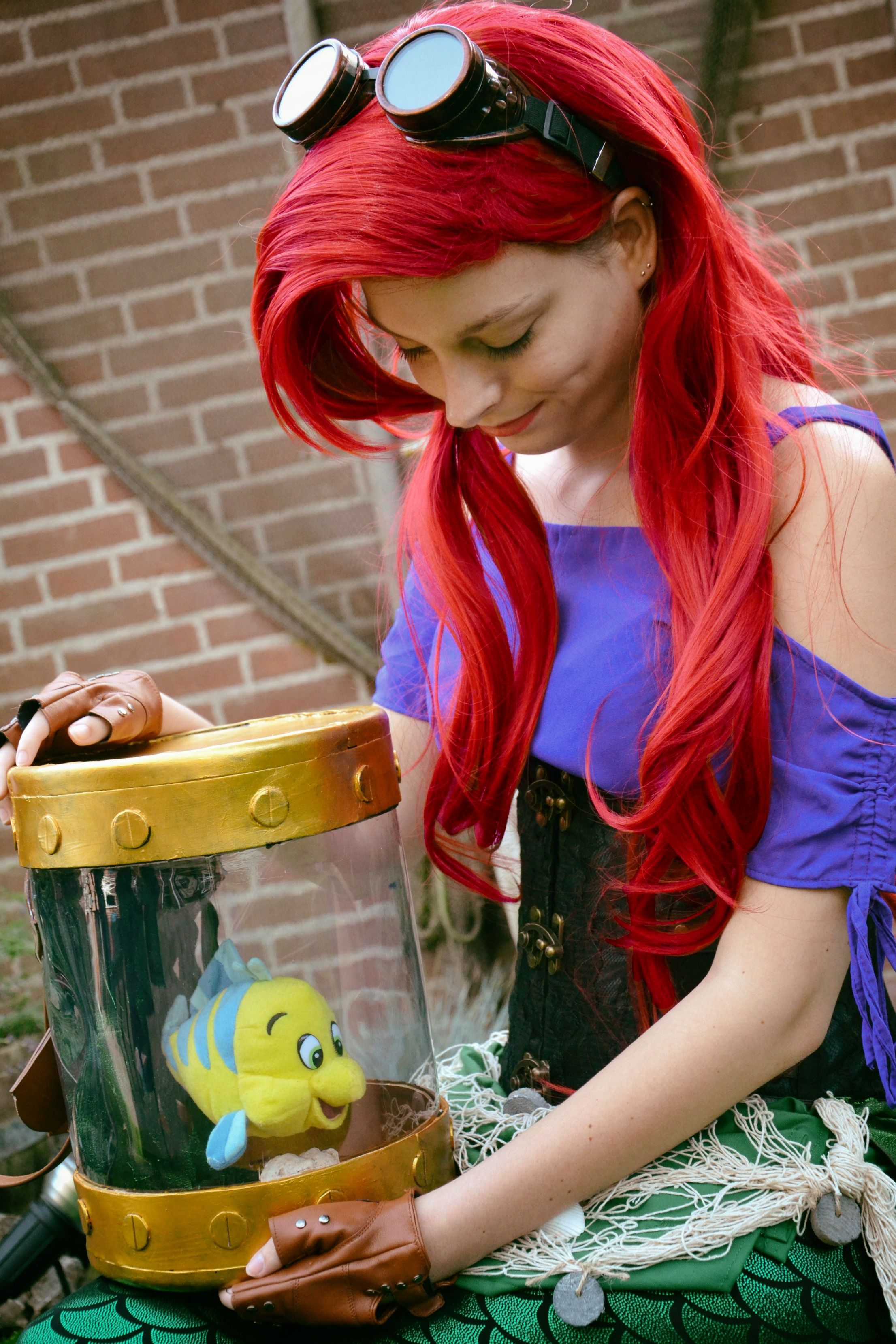 Steampunk Ariel Cosplay  Little Mermaid By Cosplayromy #Cosplay #Ariel