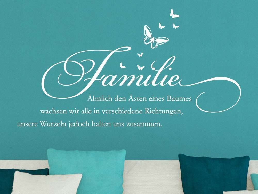 wandtattoo spruch familie hnlich den sten eines baumes im wohnzimmer spr che. Black Bedroom Furniture Sets. Home Design Ideas