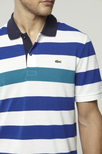 #Lacoste #stripes #polo