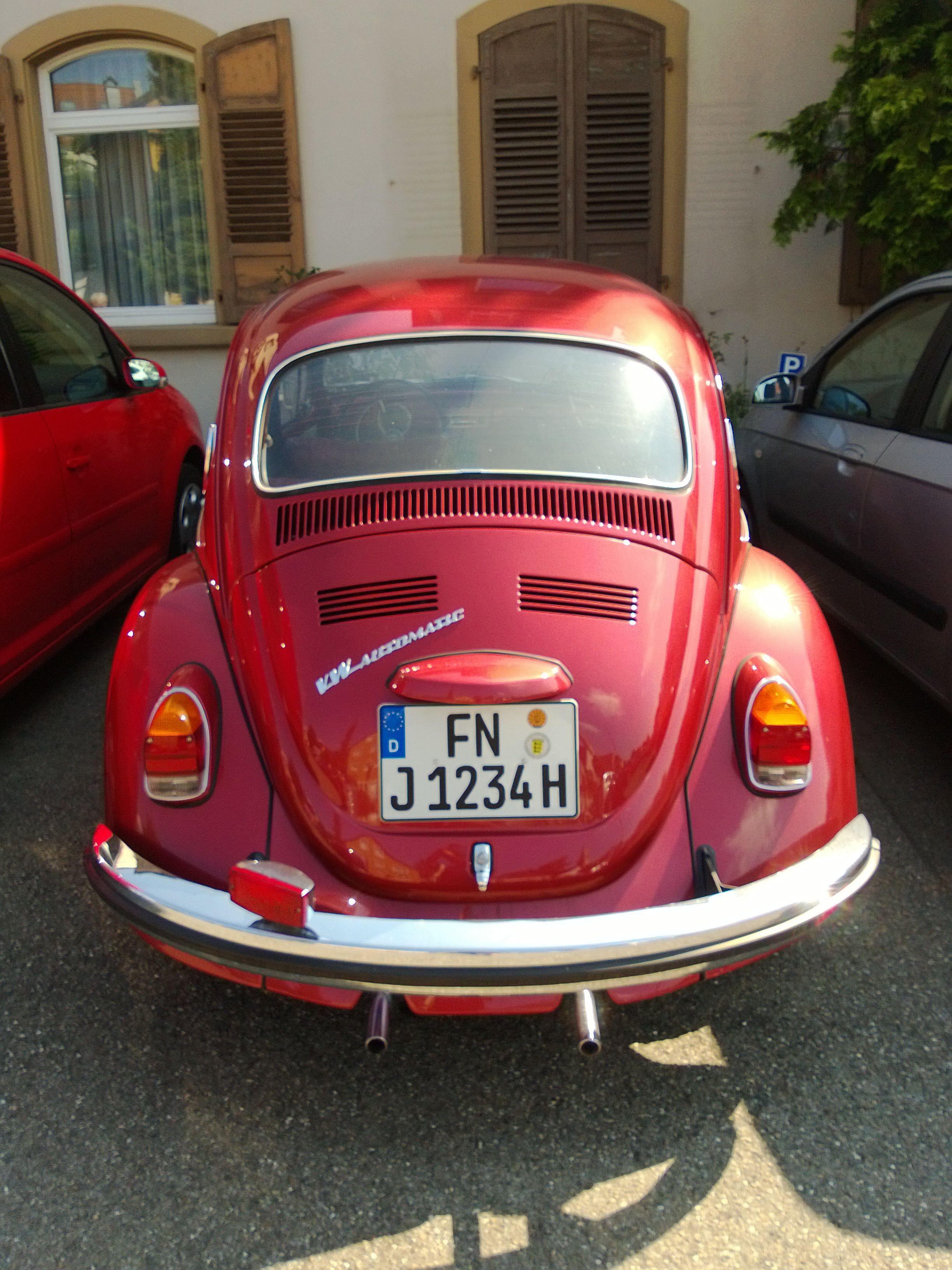 Volkswagen Beetle Automatic Meersburg am Bodensee Germany