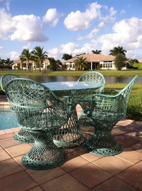 fiberglass wicker chair