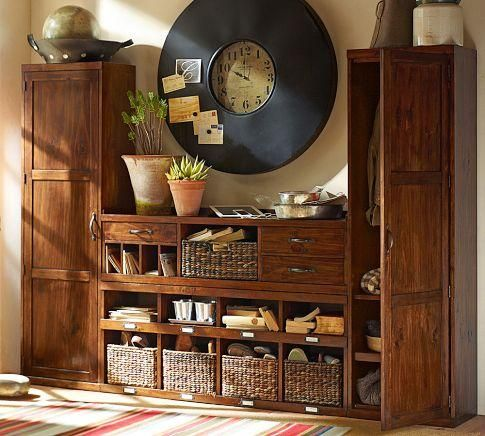 Superior Storage Furniture   This Versatile Entryway System Has Everything You Need  To Keep A Busy Home