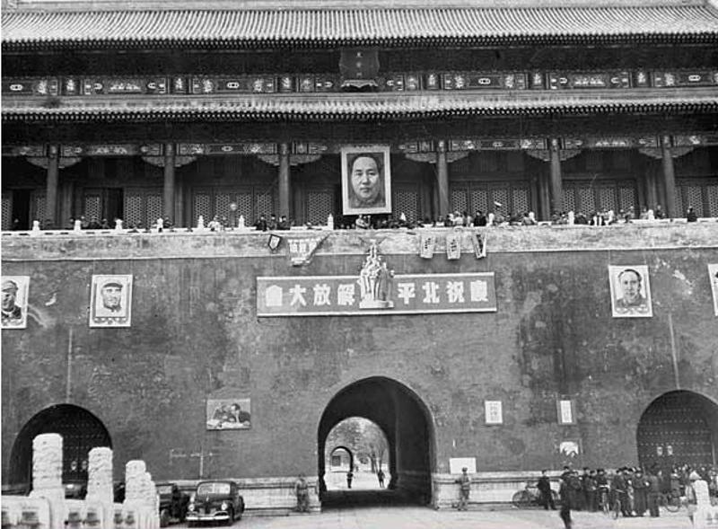 北京城上的釘圖