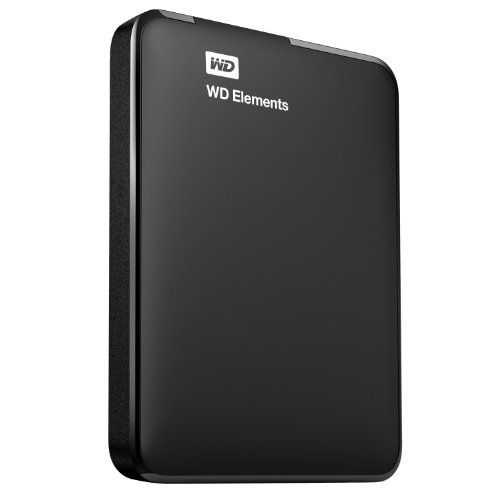 Wd Elements 1 5 Tb Portable External Hard Drive Black Computers And Accessories Exter Portable External Hard Drive Portable Hard Drives External Hard Drive