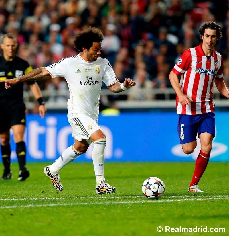Marcelo   Real madrid, Atlético de