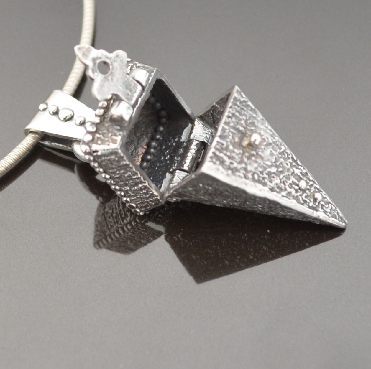 Create this fab locket in Metal clay with Tracey Spurgin at Craftworx metal clay jewellery school