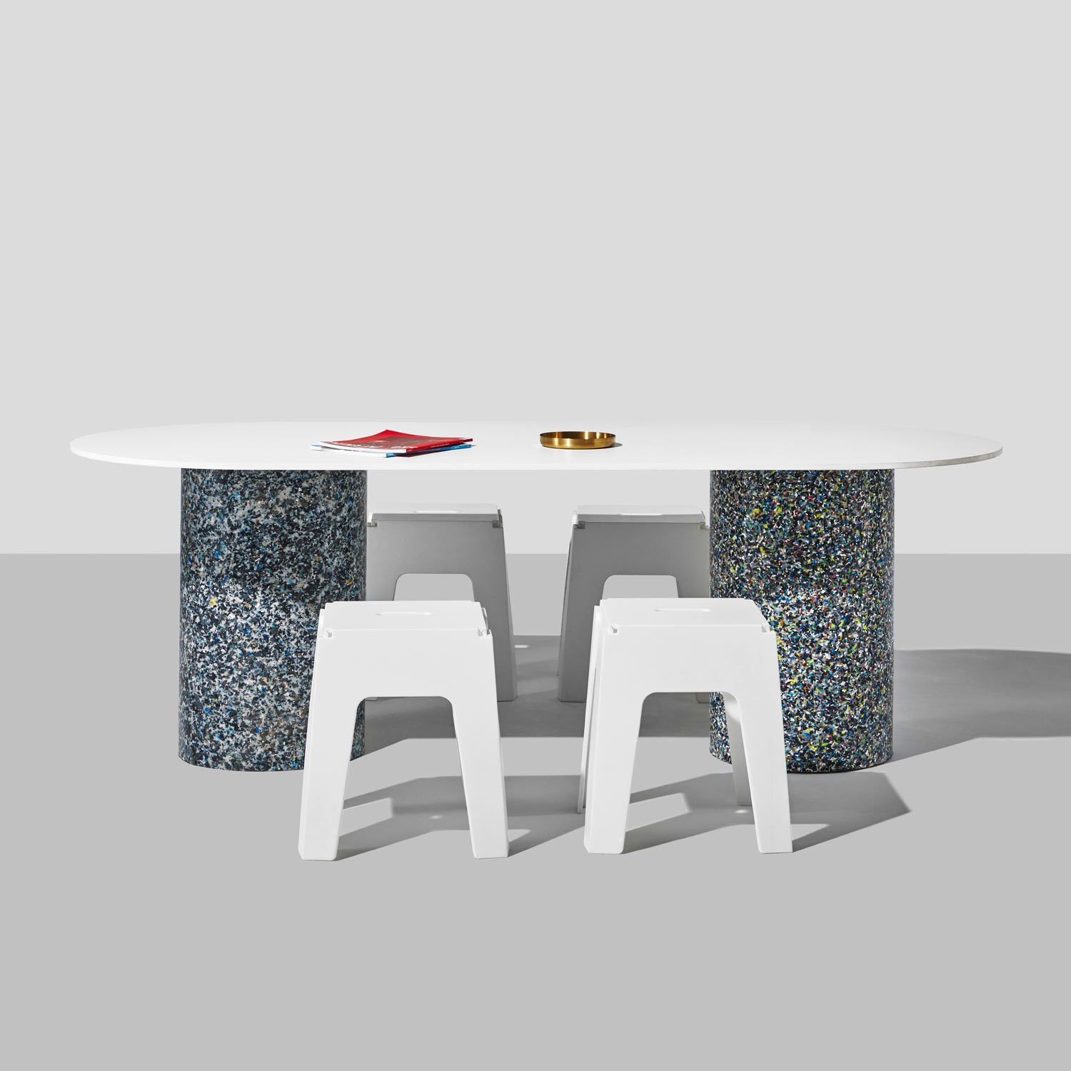 Confetti Dining Table Dining Table Recycled Plastic Furniture