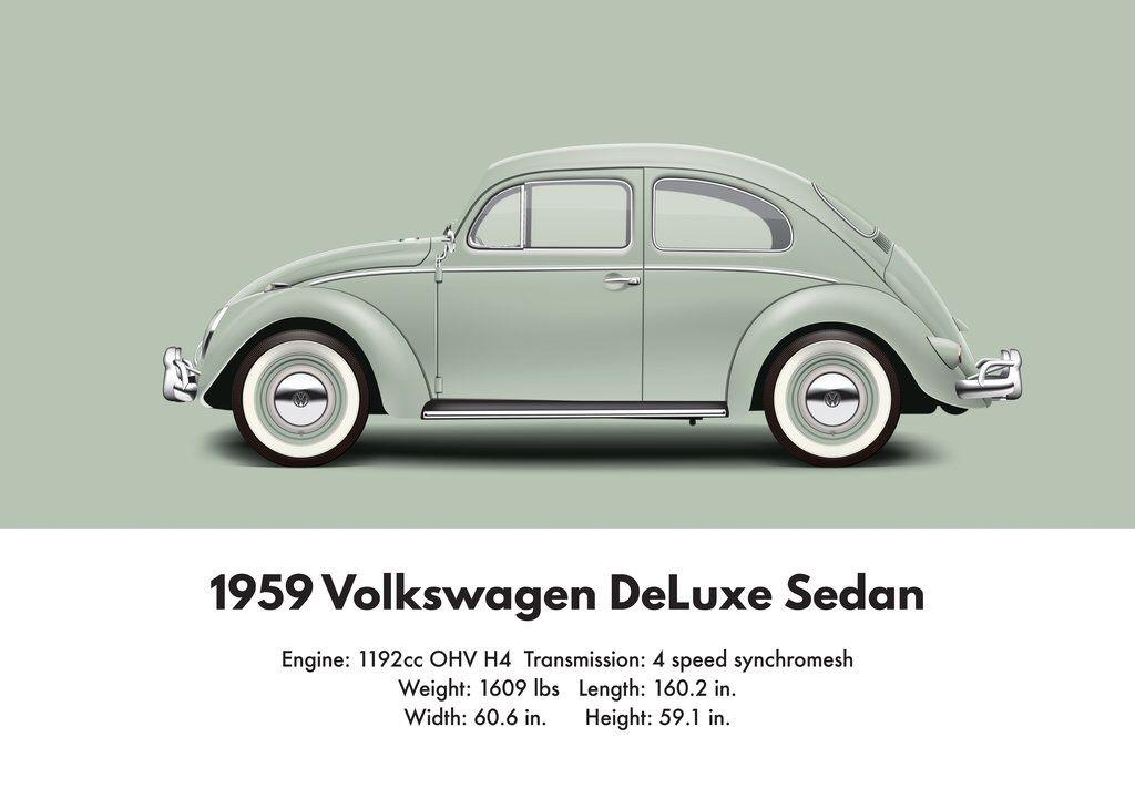 Vw Beetle Deluxe Sedan Vw Beetle Models Pinterest Vw