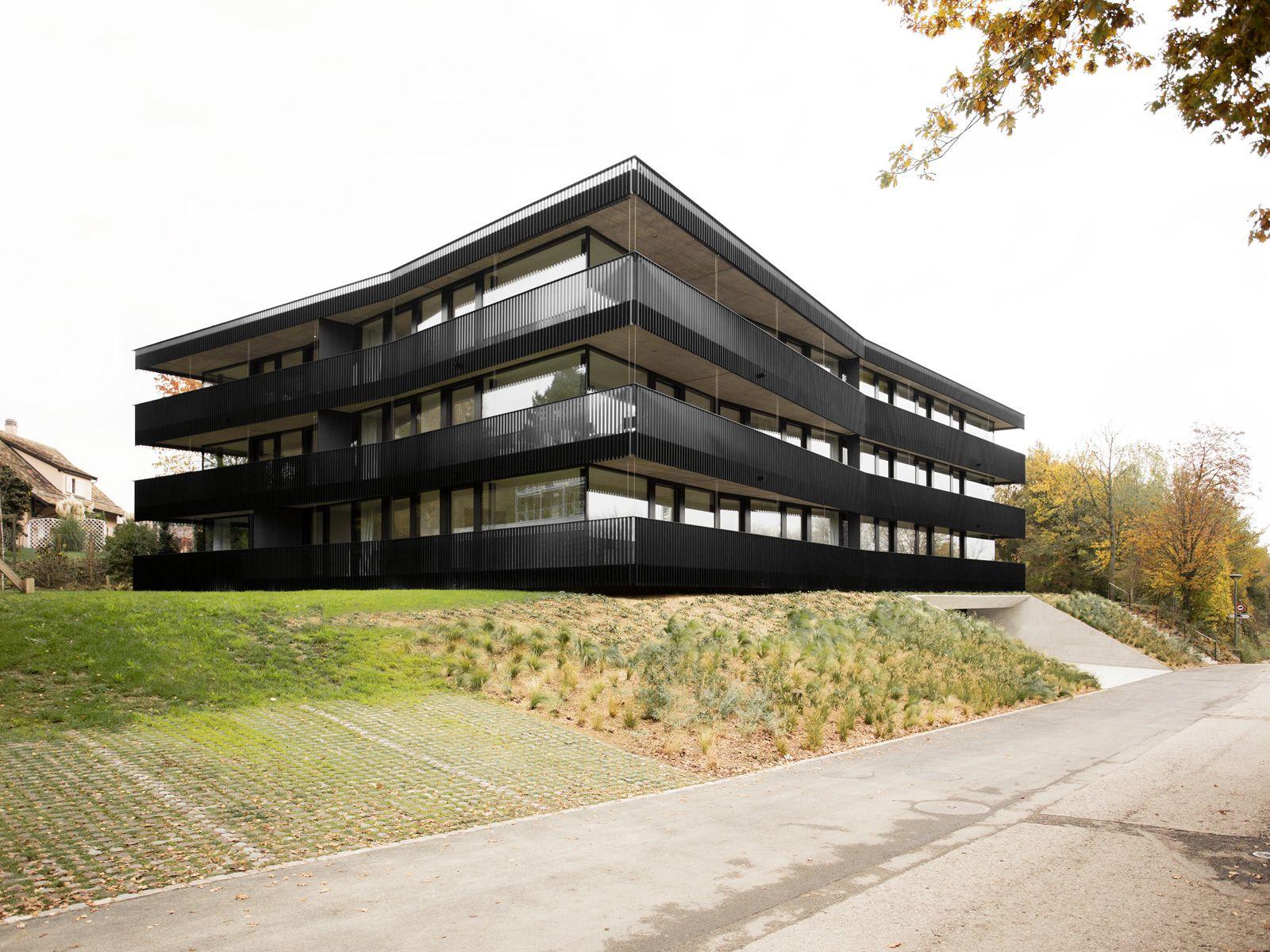 Fruehauf Henry & Viladoms / Mehrfamilienhaus in Vaud-Lausanne-Saint ...