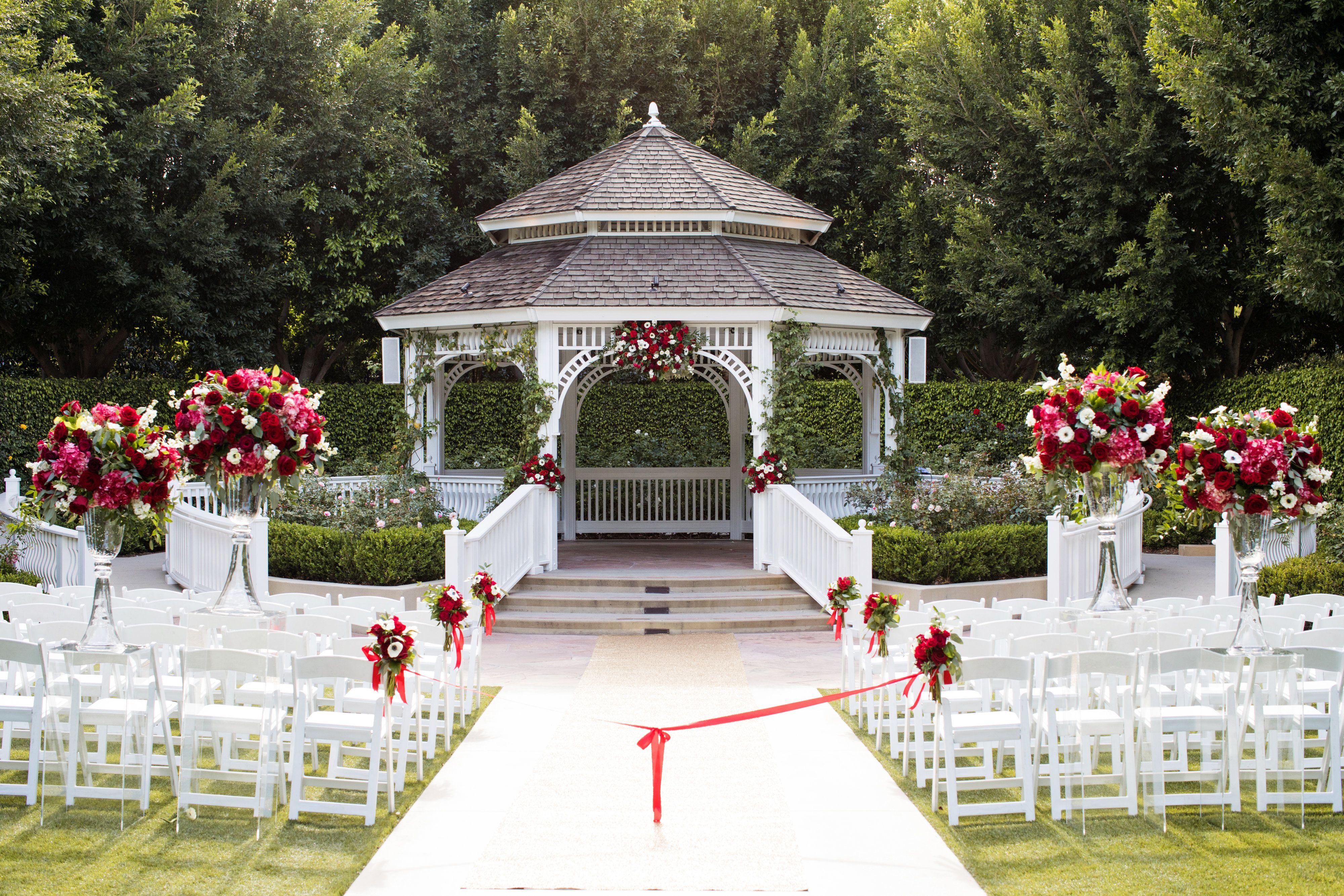 Rose Court Garden at Disneyland | Disney Wedding Venue ...