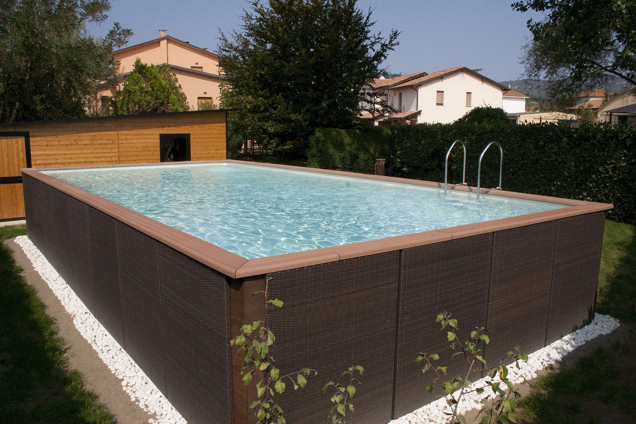 Perfekt Aufstellpool Mit Außenverkleidung Auch Für Hanglagen Geeignet |  Da Jardinero   Pools, Whirlpools,