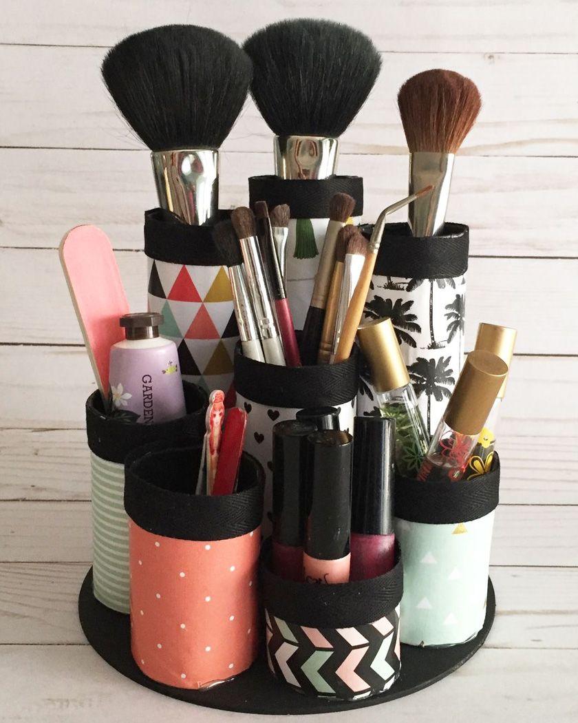 Un rangement DIY pour votre maquillage | Shake My Blog