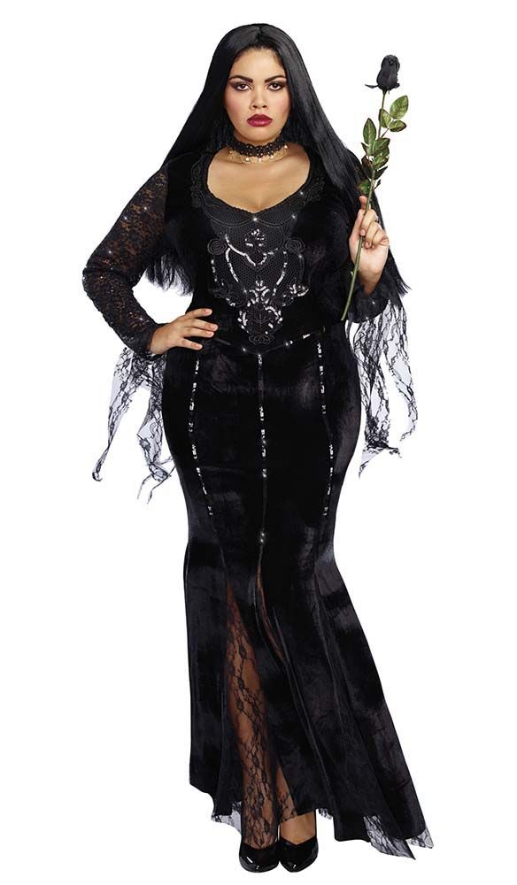 Beautiful Plus Size Deluxe Frightfully Beautiful Costume   Candy Apple Costumes   Pop  Culture