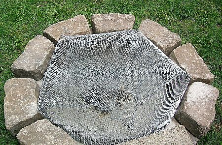 How To Build A Fire Pit Spark Arrestor