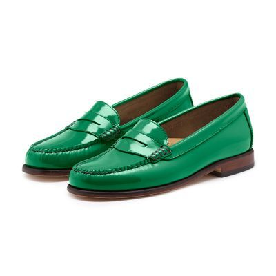f4ba803f596 Patent Weejuns in green from G.H. Bass   Co. I have them in black ...