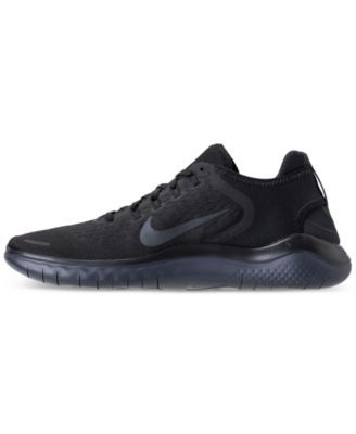 1b47ea437676 Nike Men s Free Run 2018 Running Sneakers from Finish Line - Black 7 ...