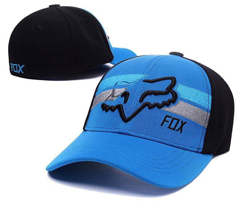 Adult Mens Cap Hat Flexfit Hat Fox Racing Flex 45 LARGE//X-LARGE BLACK//WHITE