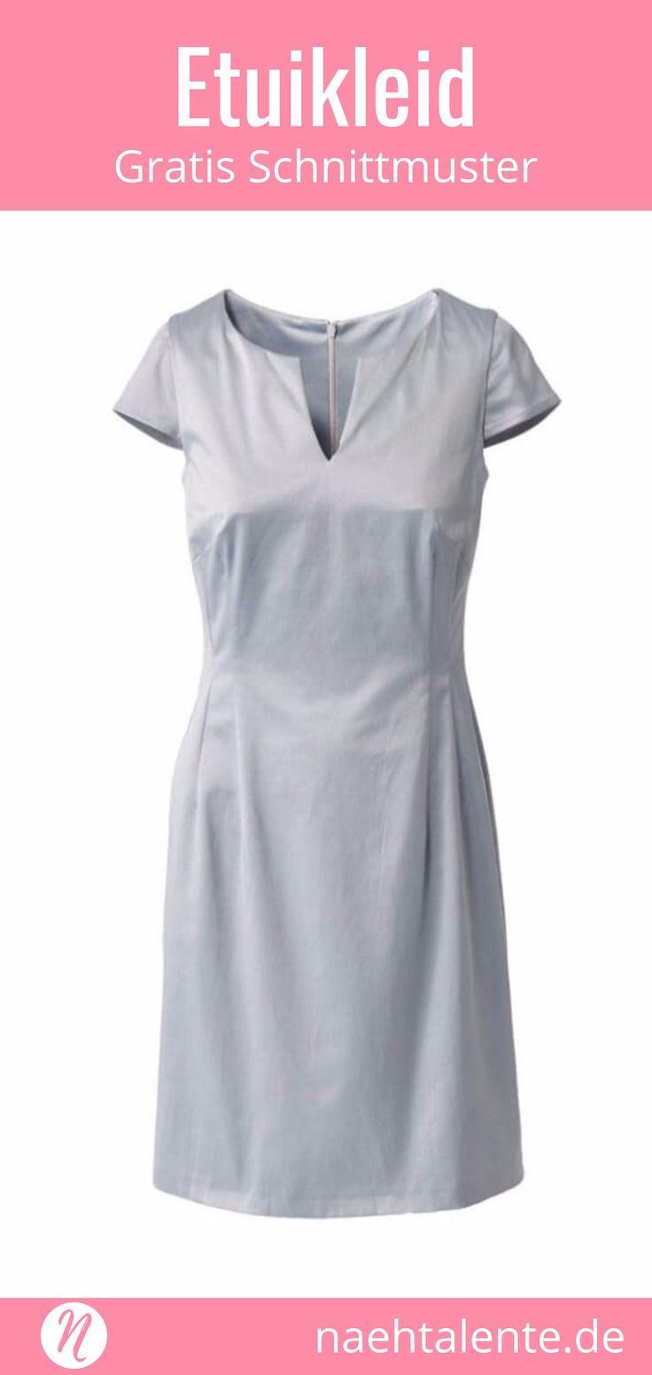 Business Kleid mit kleinem Ausschnitt