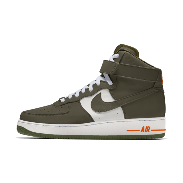 Chaussure personnalisable Nike Air Force 1 High By You pour ...