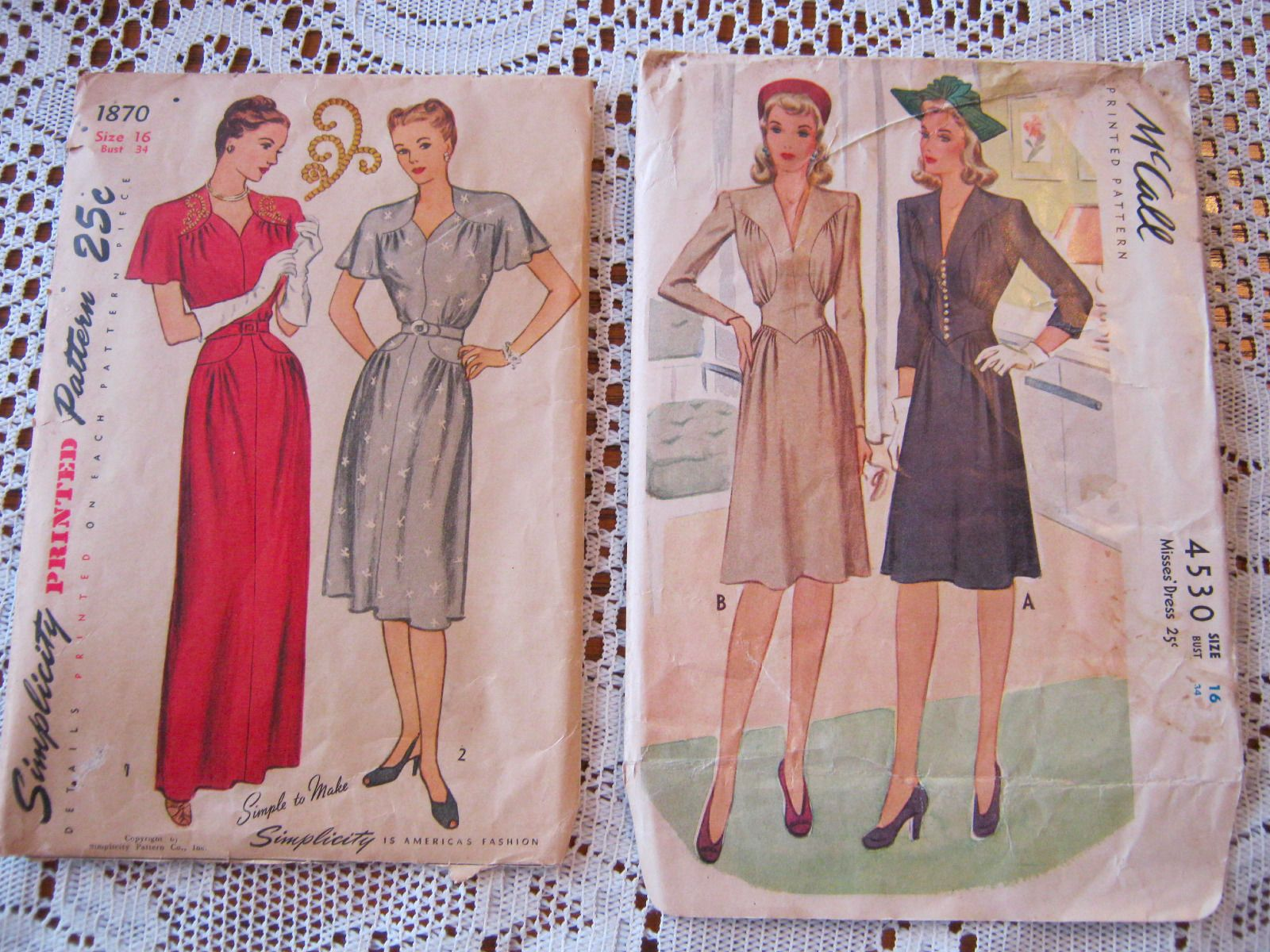 Lot of 11 Vintage Antique Ladies Dress Jacket Skirt Coat Patterns Size 34 36 | eBay