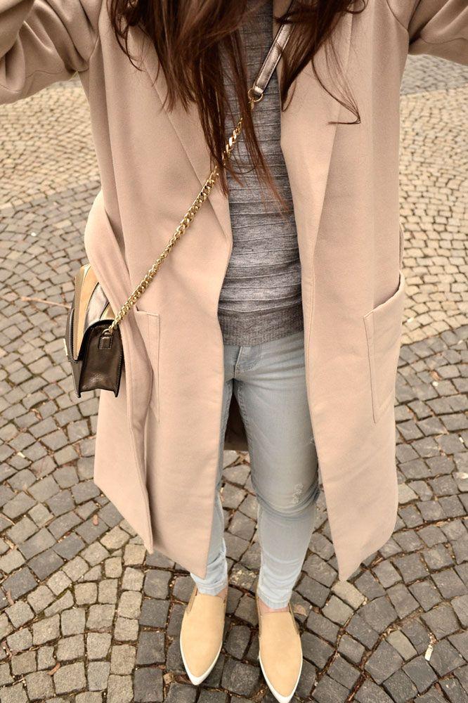 béžový kabát s opaskom – MODNYSVET  2aaa2f3e61a