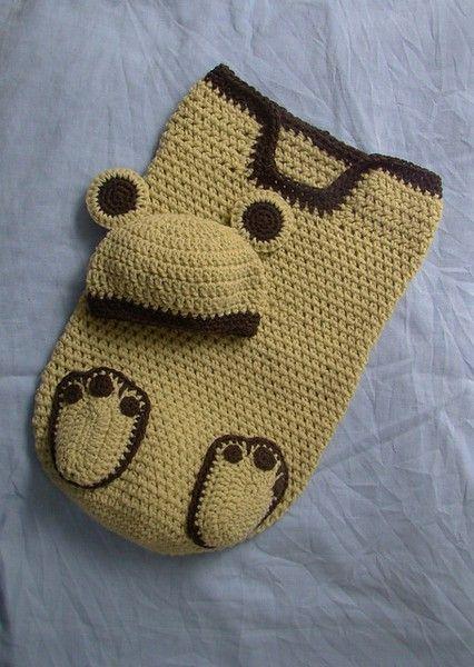 baby bear | crochet things | Pinterest | Bolsa de dormir, Tejido y Bebé
