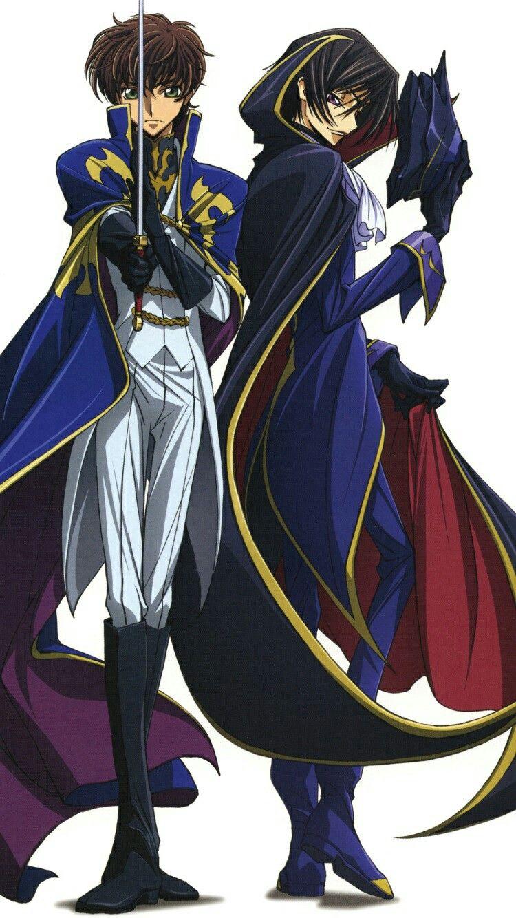 Code Geass Lelouch/Zero & Suzaku imagens) Anime