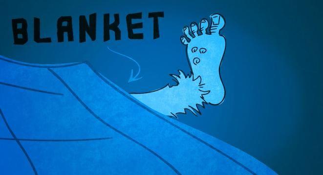 How Your Feet Help You Sleep