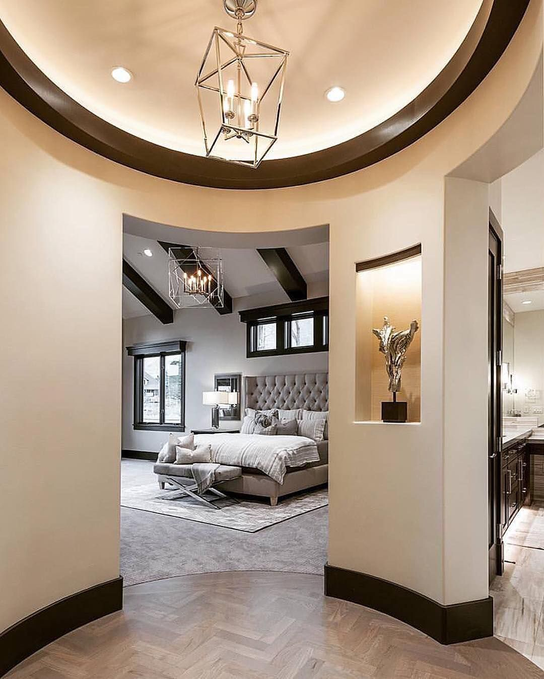 Spectacular Master Suite Entrance By Cameohomesinc Bedroom Goals