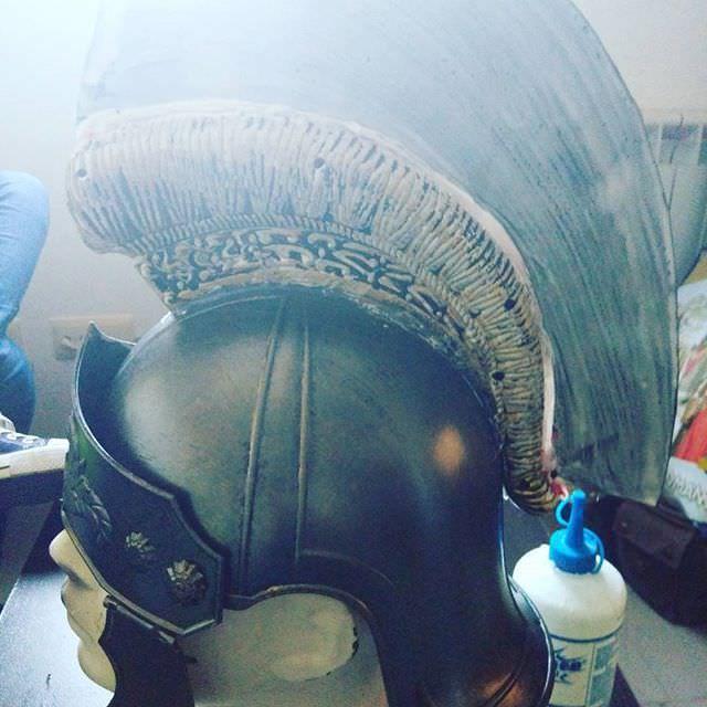 Casco romano en marcha  #art #fernandocortes #photography #fantasy #500px #model #photoshop #lightroom visita mi web! http://www.fernandocortes.com/casco-romano-en-marcha/
