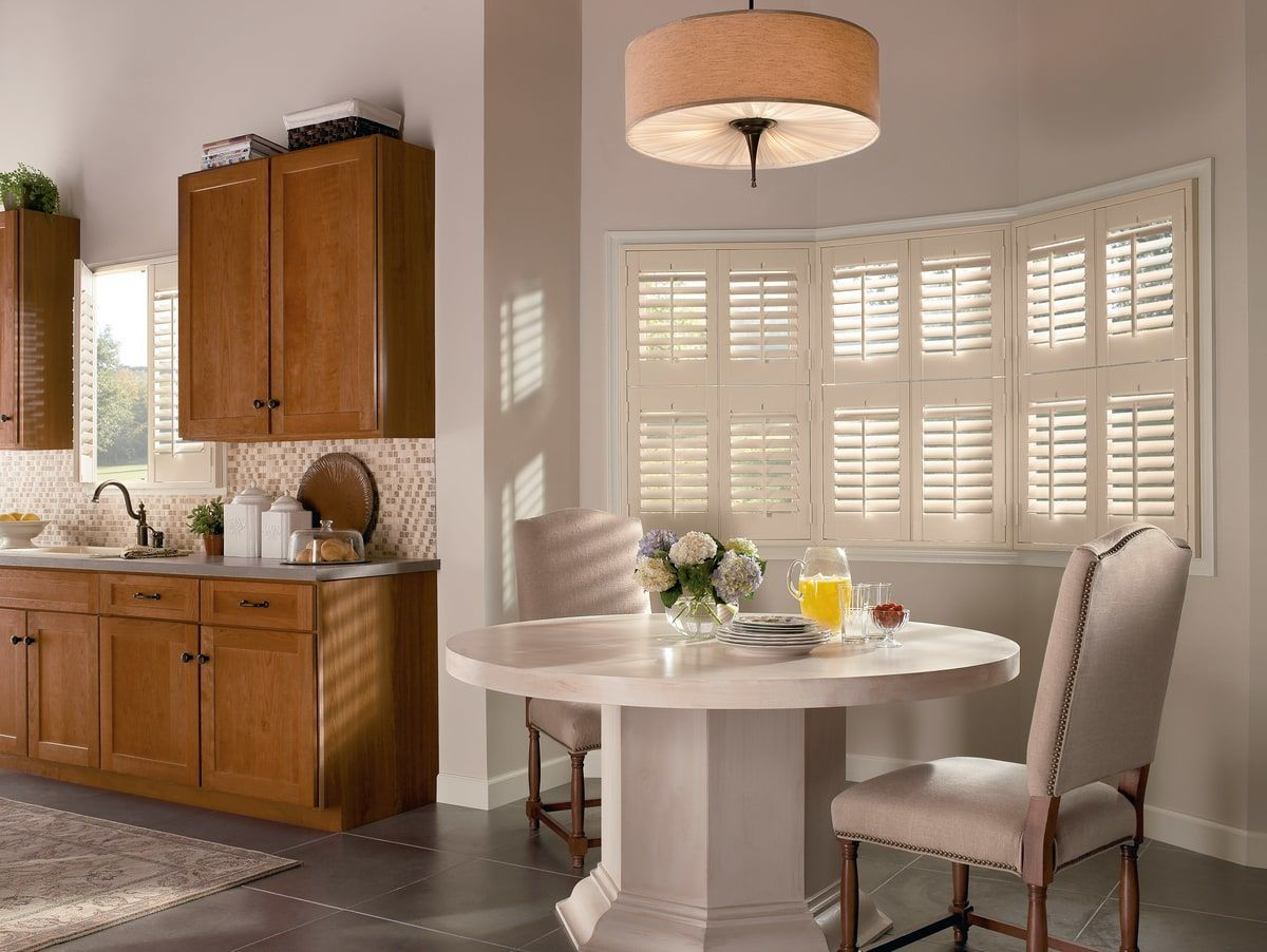 These NewStyle® shutters from Hunter Douglas are the