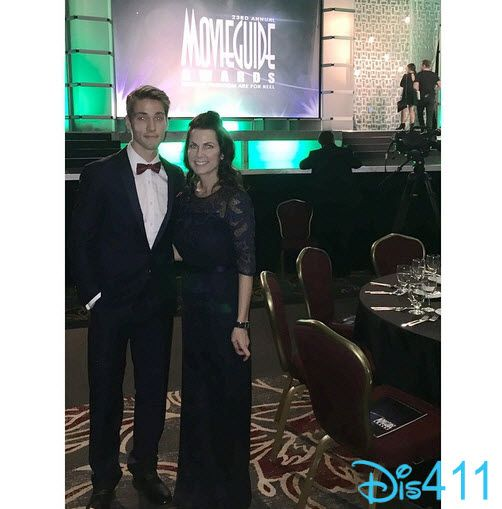 Photo: Austin North With His Mom At The Movieguide Awards February 6, 2015 - Dis411