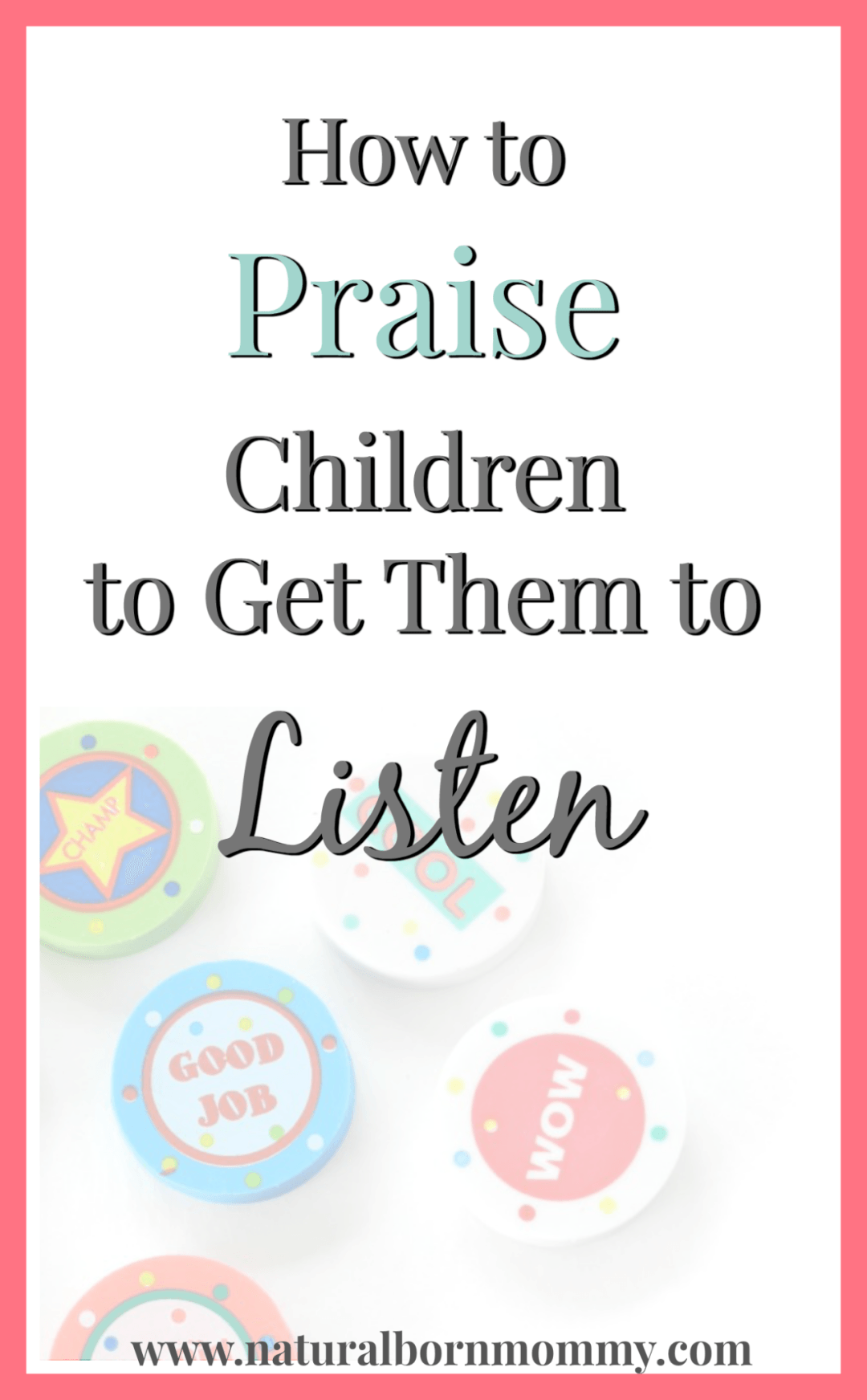 How to praise
