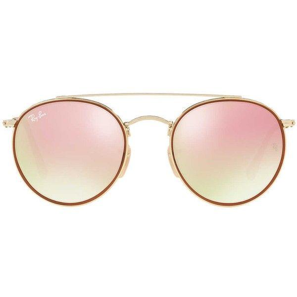a257649ec2c Ray-Ban RB3647N Double Bridge Round Sunglasses