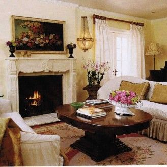 French Country Family Room Decorating Ideas